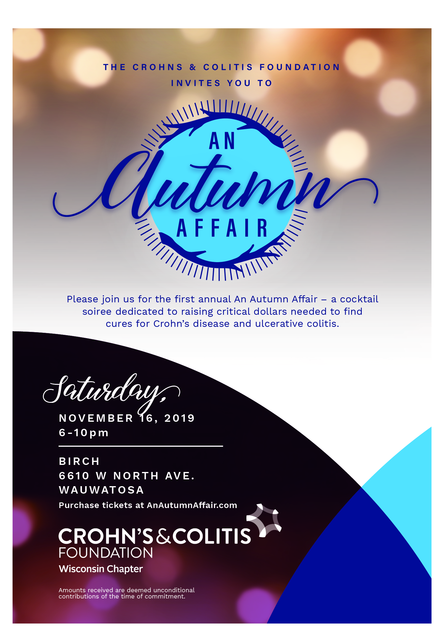 An Autumn Affair Invitation 2019