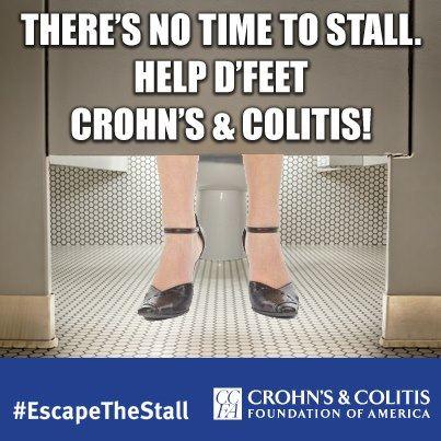 D Feet Crohns