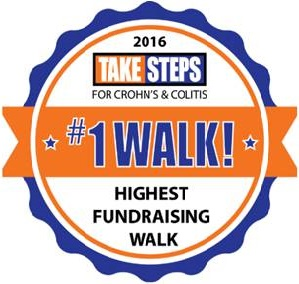 NYC Take Steps Highest Fundraising Walk