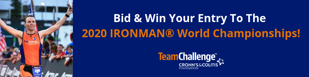 Bid & Win Your Entry to the 2020 IRONMAN World Championships