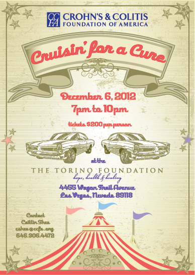 Cruisin' for a Cure Invitation