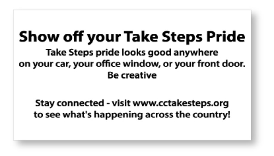 take steps decal 2