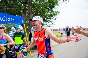 Pure happiness at Boulder 70.3