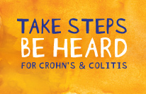 Take Steps, Be Heard for Crohn's and Colitis