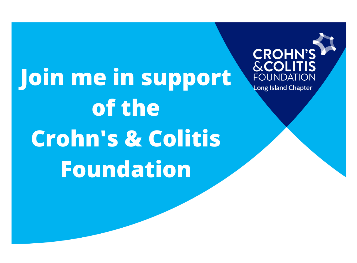 Join me in support of the Crohn's & Colitis Foundation forJo